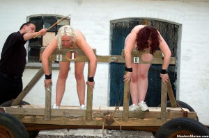 public caning in stocks