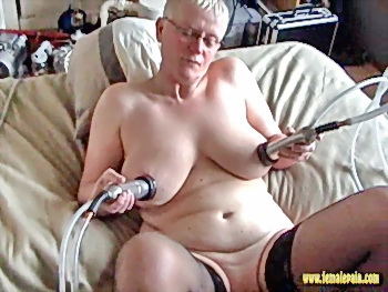 Milf tit sucking machine