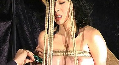 Asian girl Kumi humiliated with ropes