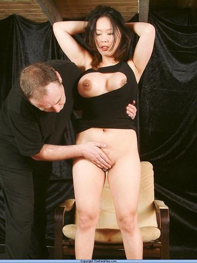 Chinese submissive slavegirl Tiger Bensons