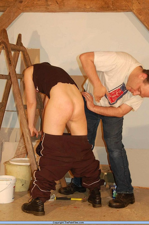 Slave girl Chaos has her ass punished